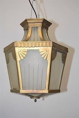 Heavy Neo Classic Casted Bronze Porch Or Hall Light