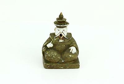 Vintage 1920s Made In Germany Figural Incense Burner Asian Chinese Man Figurine