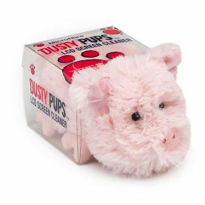 Dusty Pups LCD Screen Cleaner Pig