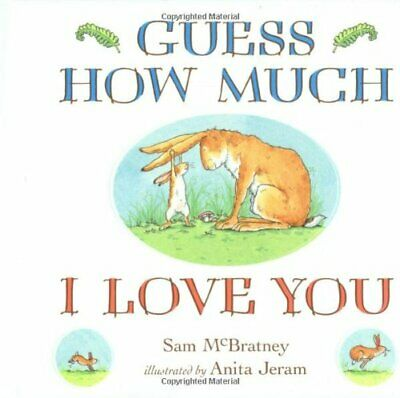 Guess How Much I Love You by McBratney, Sam Board book Book The Cheap Fast Free