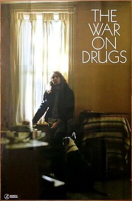 THE WAR ON DRUGS Lost In The Dream Ltd Ed HUGE Discontinued Rare Poster! Indie