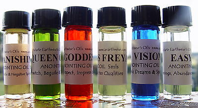 LUCKY LODESTONE OIL - Wicca Witch Pagan ATTRACT LUCK GOOD FORTUNE DRAW LUCK Goth