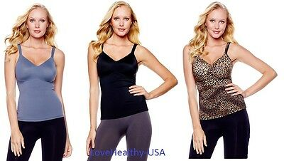 Rhonda Shear Molded Cup Camisole - PICK A COLOR -  BRAND NEW FREE SHIPPING