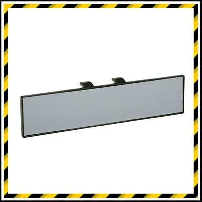 Flat Glass Rear View Car Mirror - Clips Over Existing Car or Van Mirror