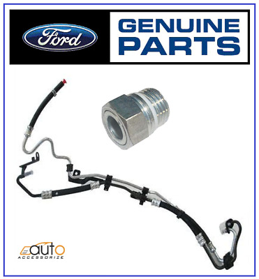 New Genuine FORD FOCUS MK2 2005-2011 C-MAX POWER STEERING PIPES + UNION NUT