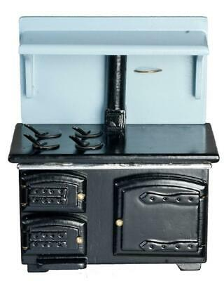 Dolls House Miniature 1:12 Scale Kitchen Furniture Victorian Cooker Wood Stove