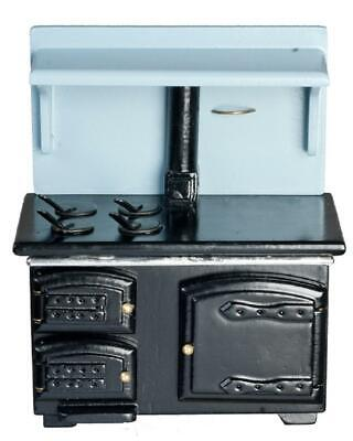 Melody Jane Dolls Houses 1:12 Kitchen Furniture Victorian Cooker Wood Stove