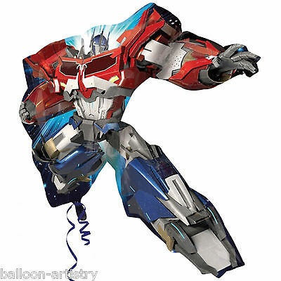 "35"" Transformers Optimus Prime Character Party Foil Supershape Balloon"