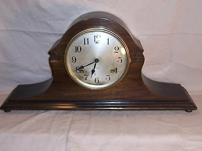 Antique Sessions Mantle Tambour Clock circa early 1900's Original