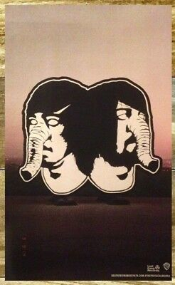DEATH FROM ABOVE 1979 The Physical World 2014 Ltd Ed Poster+FREE Alt Rock Poster