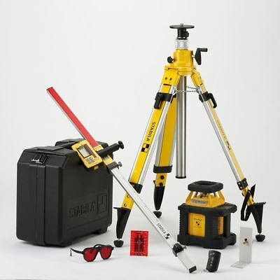 Stabila LAR250 Self Levelling Rotation Laser Level Set 17203