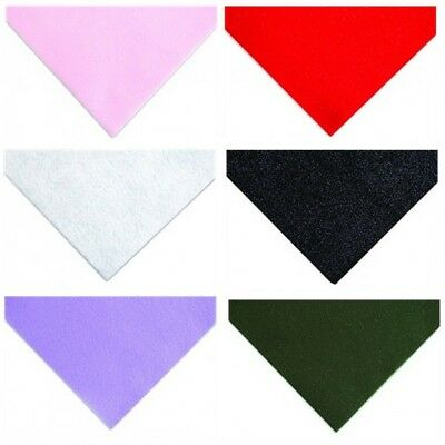 Acrylic Glitter Felt Fabric A4 23 x 30cm Pack Of Two Craft