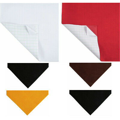 Acrylic Sticky Back Felt Fabric A4 23 x 30cm Pack Of Two Craft