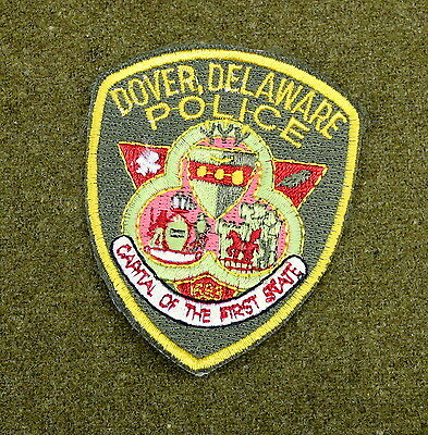 29600) Patch Dover Delaware Police Department Sheriff Law Enforcement