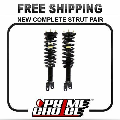 Pair (2) Complete Front Strut Assemblies For a 05-09 Dodge Mitsubishi