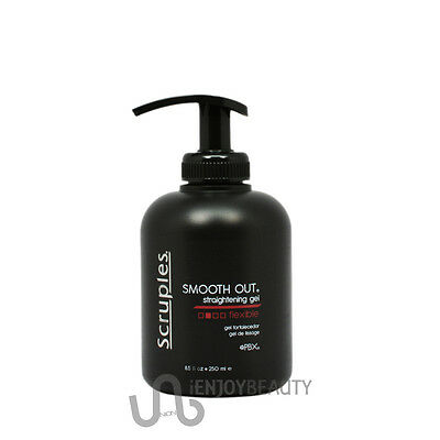 Scruples SMOOTH OUT Straightening Gel - Flexible 250ml / 8.5oz w/ free Nail File