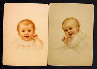 WIDE Swap/Playing Cards - Beautiful Babies x 2