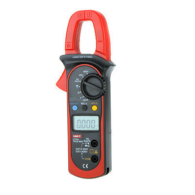 AC/DC True-rms Clamp Meter Voltage Current Resistance Frequency Test UNI-T UT204