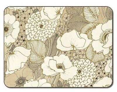 Jason Pen and Ink Flowers large Twin Pack Placemats