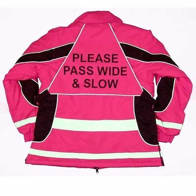 Equisafety Winter Aspey Jacket - Pink - Choose Size