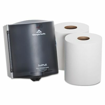 SofPull Center Pull Paper Towel Dispenser & Towel Roll Kit  - GPC58205