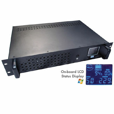 Intelligent Rack-Mount Off-Line UPS 1200VA with LCD & USB Monitoring [007243]