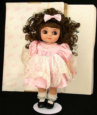 """1997 Adora Belle Porcelain Doll By Marie Osmond 14"""" Includes Bell Box Very Sweet"""