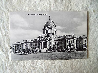 STATE CAPITOL, HELENA, MONTANA - MID 1900'S POST CARD