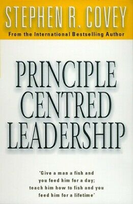Principle Centred Leadership by Covey, Stephen R. Paperback Book The Cheap Fast