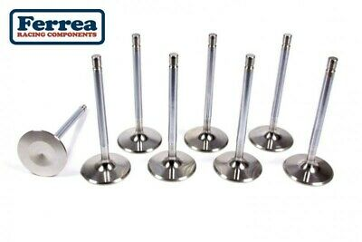 Chevy GM LS1 FERREA 6000 Stainless Exhaust Valves 1.55