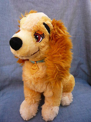 Disney Store Exclusive Lady And The Tramp Lady Soft Toy (B39)