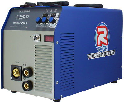 MIG Welder 250Amp & MMA Welder - Inverter 240V R-Tech - 0% Finance Available