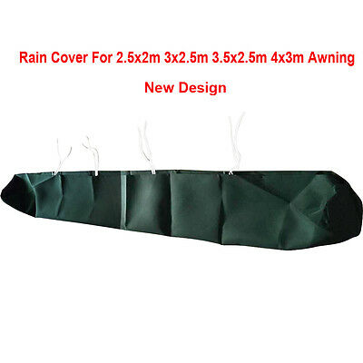 Garden Awning Weather Rain Dust Cover Protector Green 5 Size Greenbay