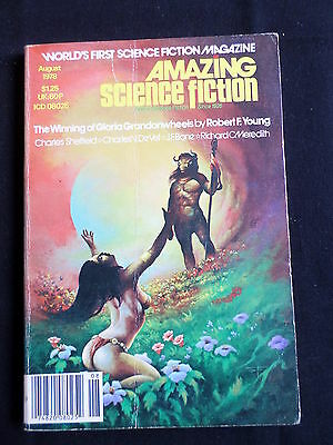 Amazing Stories  - Science Fiction - Us Magazine - Aug 1978 - Robert F Young