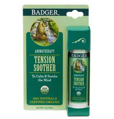 Badger Balm. Tension Soother Balm. *FREE P&P*