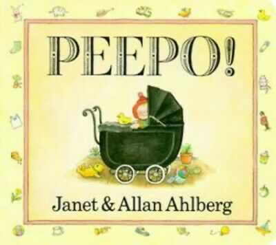 Peepo! by Ahlberg, Allan Board book Book The Cheap Fast Free Post