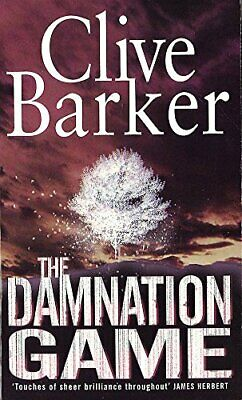 The Damnation Game by Barker, Clive Paperback Book The Cheap Fast Free Post