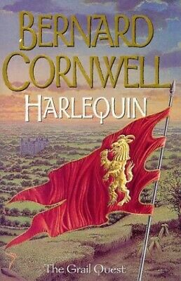 The Grail Quest (1) - Harlequin by Cornwell, Bernard Hardback Book The Cheap