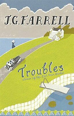Troubles by Farrell, J.G. Paperback Book The Cheap Fast Free Post