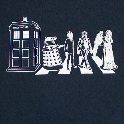 Doctor Who Abbey Road T-Shirt Ripple Junction - FREE Shipping