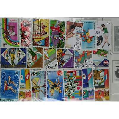 500 Sports stamps. (100)