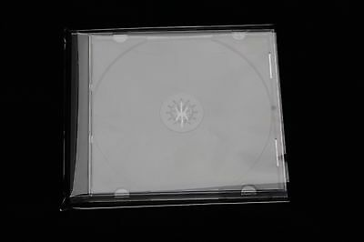2000 St Protective Covers for Jewel Case Box High Transparent Film 140X150
