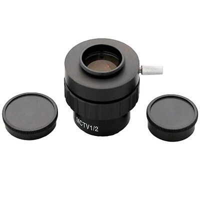 AmScope AD-C20 0.5X C-mount Lens Adapter for Microscope Video Cameras