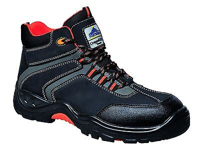 Portwest Operis Safety Boots Shoes Light Metal Free Toe Cap Pierce Resist FC60