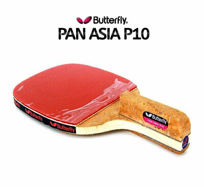 Premium Butterfly ADDOY P10 Table Tennis Racket Penhold Paddle Ping Pong