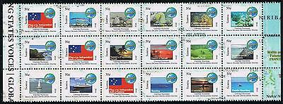 Samoa Pacific Small Island Developing States (SIDS) Postage Stamp BK-18 Issue