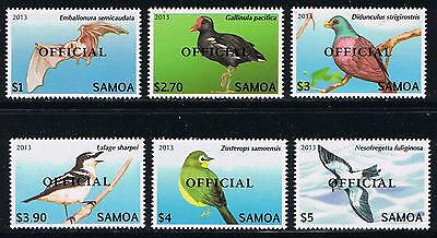 Samoa - Birds Definitives Official Postage Stamp Issue