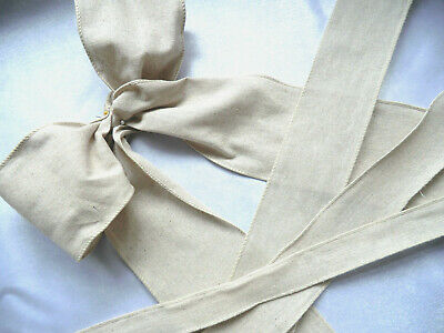 WIRED,NATURAL LINEN RIBBON,JUTE,BURLAP,32mm,50mm,40mm,100mm, FLORAL,CHRISTMAS,