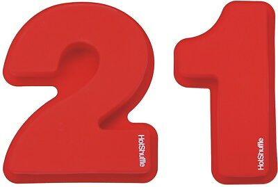 Large Silicone Number 21 Cake Tin Moulds 21st Birthday Gift Tins Moulds