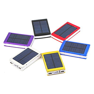 50000mAh Portable Super Solar Charger Dual USB External Battery Power Bank SU